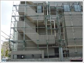 志木市の仮設工事